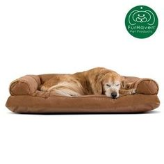 FurHaven Pet Bed   Quilted Pillow Sofa Dog Bed (Large - Toasted Brown) :  FurHaven Pet Bed   Quilted Pillow Sofa Dog Bed (Jumbo – Toasted Brown), Tan  #bed #Brown #Dog #FurHaven #Large #Pet #Pillow #Quilted #Sofa #Toasted Sofa Pillow Covers, Sofa Pillows, Rottweiler Mix, Dog Sofa Bed, Sofa Styling, Quilted Pillow, Cozy Bed, Quilt Bedding, Animal Pillows