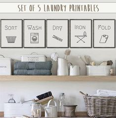 Cheap And Easy Tips: Home Decor Grey home decor styles easy diy.Home Decor Styles Easy Diy home decor kitchen brown.Home Decor Minimalist Tvs. Laundry Shop, Laundry Room Art, Laundry Decor, Laundry Room Signs, Farmhouse Laundry Room, Laundry Room Organization, Organized Laundry Rooms, Small Laundry Closet, Laundry Room Printables