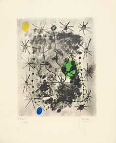 Joan Miró, André Breton, Constellations, 1959, Auction 932 Modern Art, Lot 264