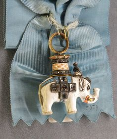 Order of the Elephant - Badge (Stockholm's Royal Palace)