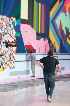 Franz Ackermann is a German painter and installation artist based in Berlin.