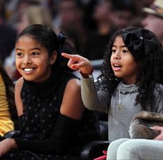 Kobe Bryant And Wife, Kobe Bryant Daughters, Kobe Bryant Family, Kobe Bryant Nba, Natalia Bryant, Vanessa Bryant, Kobe Brayant, Kobe Mamba, Kobe Bryant Pictures