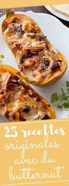 Discover our 25 recipes that change with butternut Fancy Dinner Recipes, Winter Dinner Recipes, Fall Recipes, Vegetarian Recipes, Cooking Recipes, Healthy Recipes, Winter Food, Food Porn, Good Food