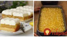 Recept na tento koláč som si doniesla z dovolenky, lepší nepoznám: Balkánsky jablkový koláč – robím aj namiesto torty! Vanilla Cake, Tiramisu, Sweet Tooth, Yummy Food, Cheesecake, Recipes, Cakes, Flowers, Basket