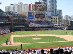 PETCO Park. The park is incredible. The only way I can describe it is urban. The park blends right into the city and visa versa. One of the best parks in Baseball. Loved the sun, the park, the buildings, and the company of Miss Diva Van Epps.