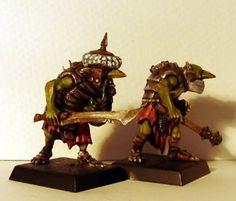 grots + clan rats - Haavier hobgoblins