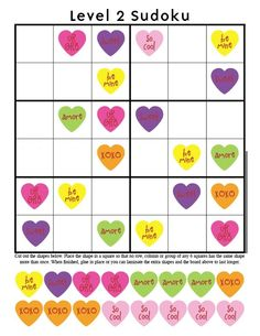 Kid Giddy aka Kerry Goulder: Sewing Patterns, Crafts, DIY, Photography, Recipes and more: Giddy-Up Friday: Valentine Sudoku Printables