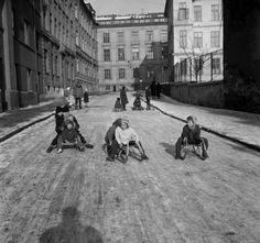 Prvý sneh v Bratislave, Štetinova ul. Bratislava, Nostalgia, Street View, Memories, Sneh, Times, Pictures, Historia, Souvenirs