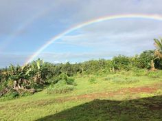 Rainbow, Big Island, Hawaii ~ Natures calms my mind, eases my heart, and frees my inner wisdom.  Always Well Within Read more: http://alwayswellwithin.com/2015/04/26/hawaii-life-the-land/