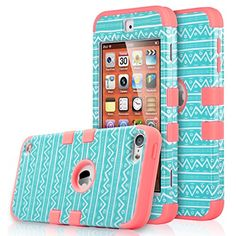 ULAK iPod Touch 5 Case, 3 in 1 Shield Series Hybrid Hard Case Cover with Soft Silicone Inner Case for Apple iPod Touch 5th Gen (Wave Pattern/Rose Pink) ULAK http://www.amazon.com/dp/B010PQPDUU/ref=cm_sw_r_pi_dp_08UPvb0WE55S9