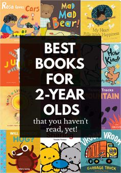 Fantastic books for 2 year olds that parents and caregivers will love reading. These terrific board books will become fast favorites!