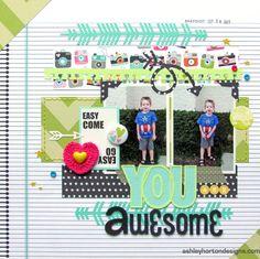 You Are Awesome - Scrapbook.com