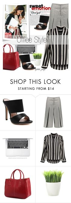 """""""Rosegal - Office style"""" by goreti ❤ liked on Polyvore featuring Kikkerland, springfashion, rosegal and Spring2017"""