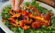 Grilled Spicy Squid
