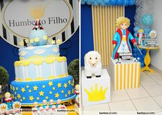 little prince birthday party 1 O pequeno príncipe