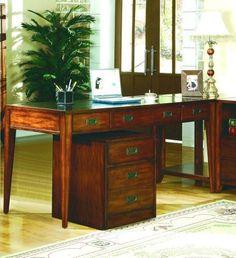 Hooker Furniture Danforth Executive Leg Desk 388-10-458 Hooker Furniture http://www.amazon.com/dp/B001G9SEKC/ref=cm_sw_r_pi_dp_39yfub1FH84D6