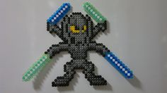 Star Wars - Lord Grievous (Mega Man style) perler beads by Björn Börjesson