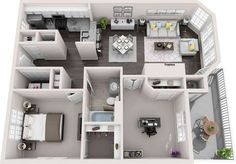 80 new apartment layout 3 color bedroom idea schemes page 47 Sims 4 House Plans, House Layout Plans, House Layouts, Small House Plans, House Floor Plans, Apartment Layout, Dream Apartment, Apartment Design, Sims 4 House Design