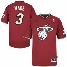 Camiseta Miami Heat especial Navidad - Wade www.basket3c.com