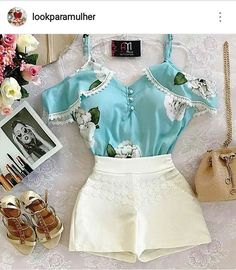 Ideas For Moda Primavera 2019 Juvenil Teen Fashion Outfits, Classy Outfits, Look Fashion, Trendy Outfits, Summer Outfits, Cute Outfits, Mode Rockabilly, Skirt Outfits, Casual Looks