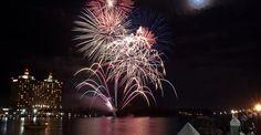 Fireworks in Savannah