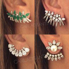 Brincos da nova coleção #carladsantis ❤️ #inlove #musthave #prata #jewellerylover ➖➖➖➖➖➖➖➖➖➖➖➖➖➖➖➖➖➖ TODOS OS BRINCOS ESTÃO DISPONÍVEIS NO NOSSO SITE: www.carladsantis.com.br ➖➖➖➖➖➖➖➖➖➖➖➖➖➖➖➖➖➖