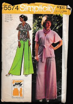 Simplicity 5574 Simple to Sew® Misses Super by OutoftheConex