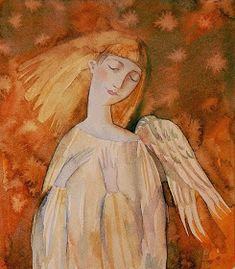 Artodyssey: Olesya Serzhantova (Serjantova ) Сержантова Олеся Seraph Angel, Angel Artwork, Cemetery Angels, Angel Guide, Angel Images, Angels Among Us, Angel Eyes, Wedding Art, Sacred Art