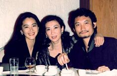 林青霞与施南生&徐克 Brigitte Lin, somebody, Tsui Hark
