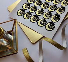 Black & Gold Foil Eid Mubarak Stickers #eidfavours #eidfavors #eiddecor #eidstickers #shinebrightstickers Eid Mubarak Stickers, Eid Stickers, Eid Favours, Favors, Eid Eid, Gold Foil, Black Gold, How To Find Out, Events