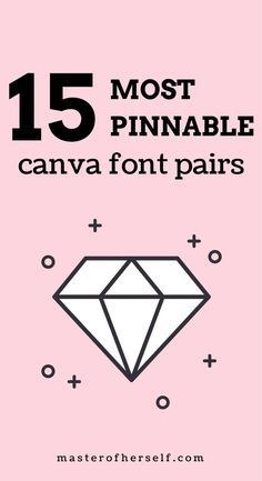 Can't find the right font pair for your Pinterest pins? Here's my guide to the most pin-worthy Canva font pairs. (scheduled via http://www.tailwindapp.com?utm_source=pinterest&utm_medium=twpin)