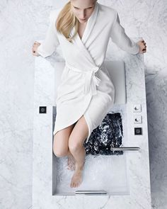 #Bathroom #HomeDesign #Inspiration #BathroomDesign #InteriorDesign #Deco #Decoration #Interior #Home #HomeDecor #LifeStyle #Luxury #HomeWellness #BienFaits #DreamShower #BienEtre #Perfect Smart Home Control, Dream Shower, Spa Design, Basin Design, Bathroom Taps, Home Spa, Trends, Luxury Homes, House Styles