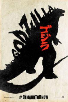 GODZILLA Promo Poster Art - Demand to Know — GeekTyrant #scifi #kaiju #japanese