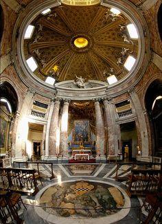 sant'andrea+al+quirinale+rome | Bernini, Sant'Andrea al Quirinale, 1658-1670