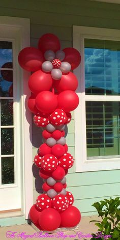 This balloon creation is created from the combined ideas of various balloon artists.