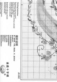 Mermaid - 5/5 Solo Patrones Punto Cruz (pág. 289) | Aprender manualidades es facilisimo.com