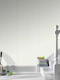 Paintable beadboard wallpaper by Graham & Brown is easy to paint and easy to remove because of its non-woven backing >> http://www.diynetwork.com/decorating/decorate-with-products-seen-on-i-want-that/pictures/index.html?soc=pinterest