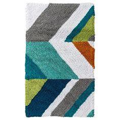 Room Essentials™ Chevron Bath Rug - Multicolor (20x34