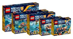 Nouveautés Nexo Knights 2017 : les visuels officiels: Les fans de la gamme LEGO Nexo Knights seront heureux d'apprendre que les… #LEGO