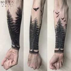 Tatuagens do estilo Blackout - Tattoo Ideas Forearm Band Tattoos, Tattoos Arm Mann, Wolf Tattoos, Arm Tattoos For Guys, Leg Tattoos, Black Tattoos, Body Art Tattoos, Tatoos Men, Tattos