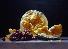 "Ning Lee ""Melon and Grapes"""