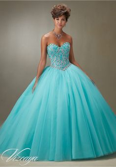 Quinceanera Dresses – Vizcaya Gown Dress Style 89076