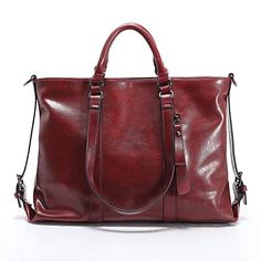Women's New Fashion Faux Leather Totes Shoulder Bags Handbag - USD $ 32.19