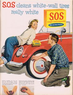 Vintage SS pad ad.