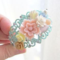 Mint Green Bracelet by Jewelsalem, $22.00