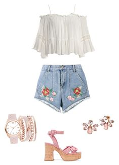 Casual/Cute Outfit by jelisa-ortiz on Polyvore featuring polyvore, fashion, style, Sans Souci, House of Holland, Miu Miu, Marchesa, A.X.N.Y. and clothing