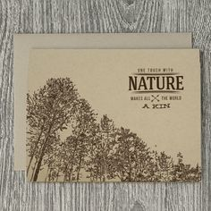 Hand-Drawn Treetops Forest with John Muir by FAsInFrankPapergoods