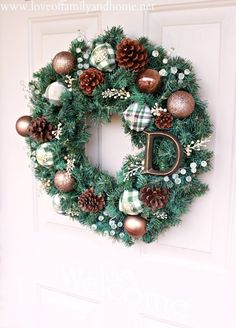 25 Best Winter Wreaths – Remodelaholic
