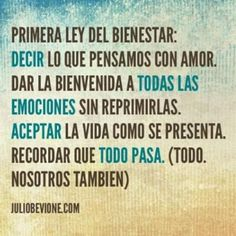 primera ley del bienestar... Mental Health Therapy, Unspoken Words, Frases Humor, Describe Me, All You Can, Pretty Words, Spanish Quotes, Love Life, Psychology