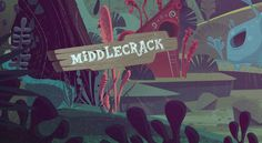 Animation backgrounds for a Cartoon pitch